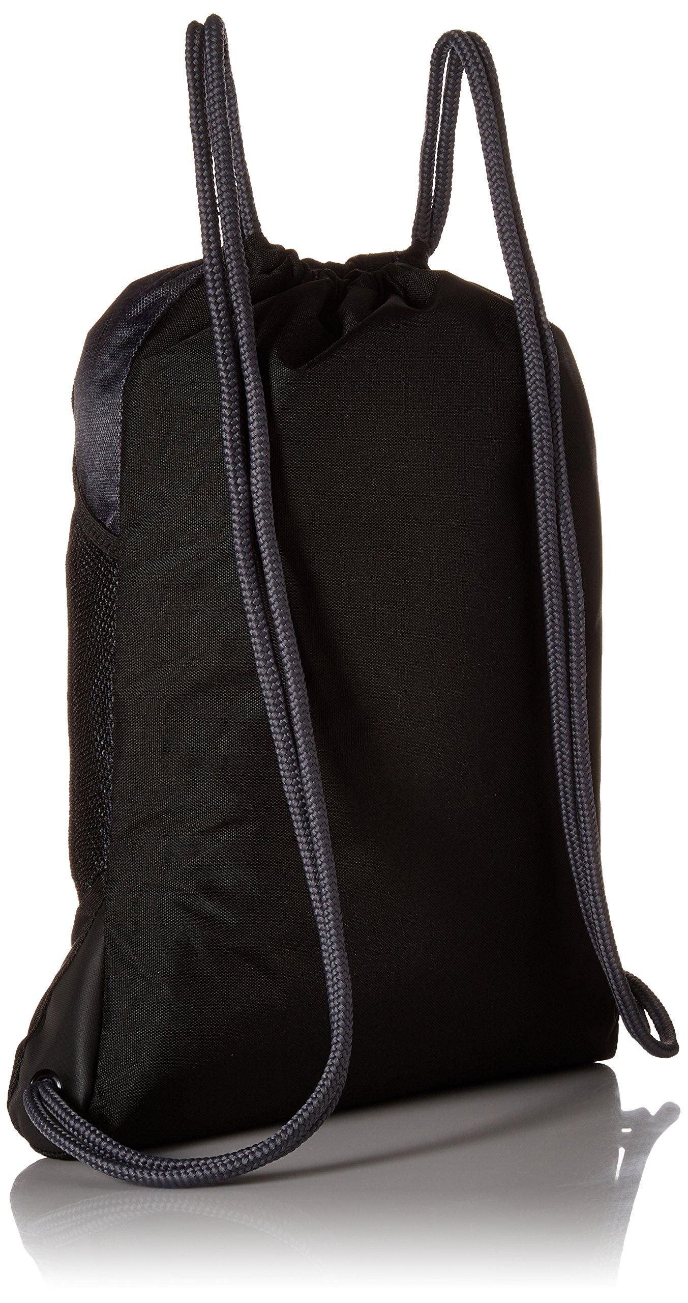 94b13bdcd adidas Alliance II Sackpack, Black/Black Jersey/Onix/Semi Solar Yellow, One  Size