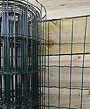 Hamble Distribution ltd Bb-cw131 grillage de clôture pour jardin en pvc vert 10 x 0,9 m