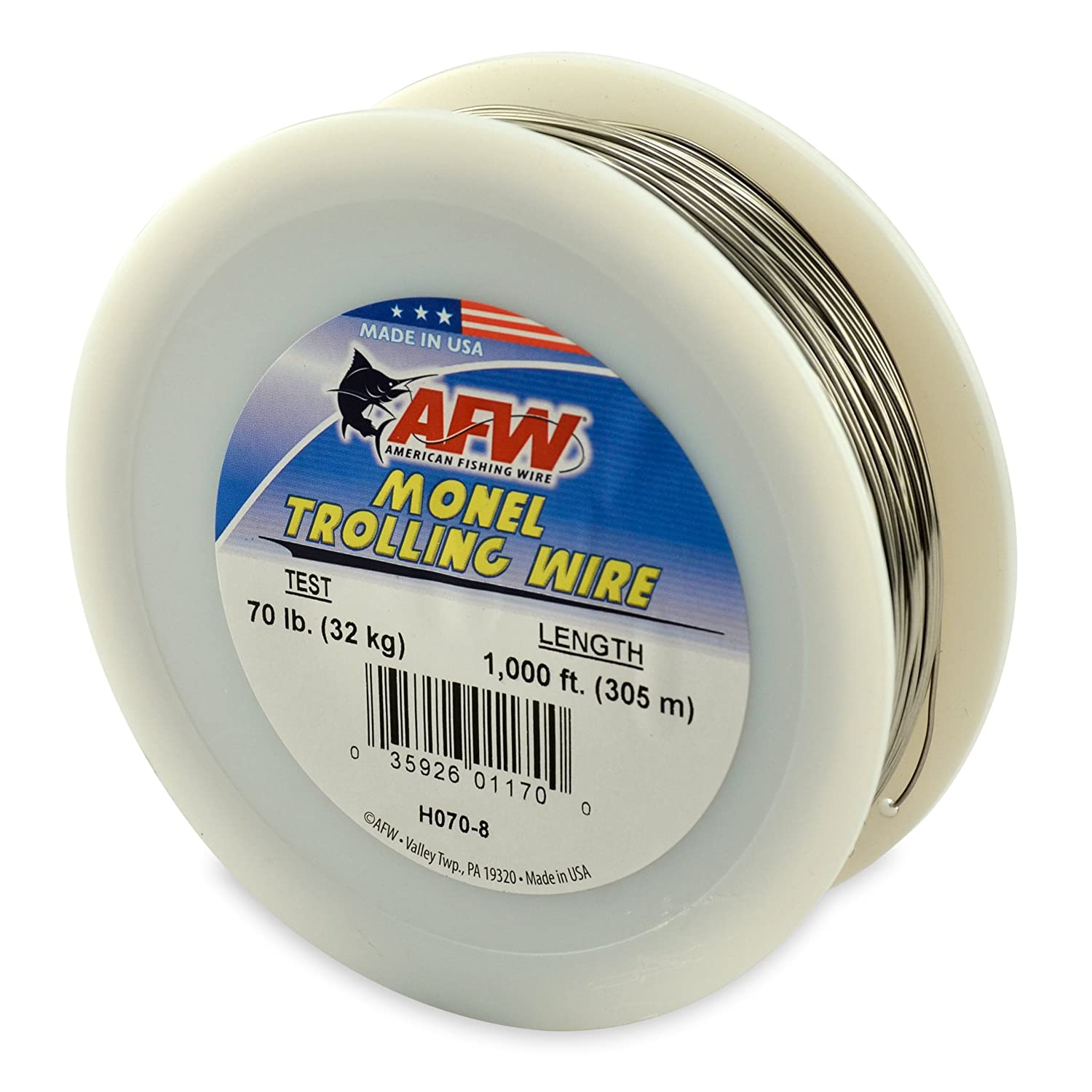 American Fishing Wire Monel Trolling Wire AMF13