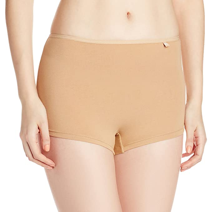 Jockey Women's Cotton Boy Leg Women's Boyshorts at amazon