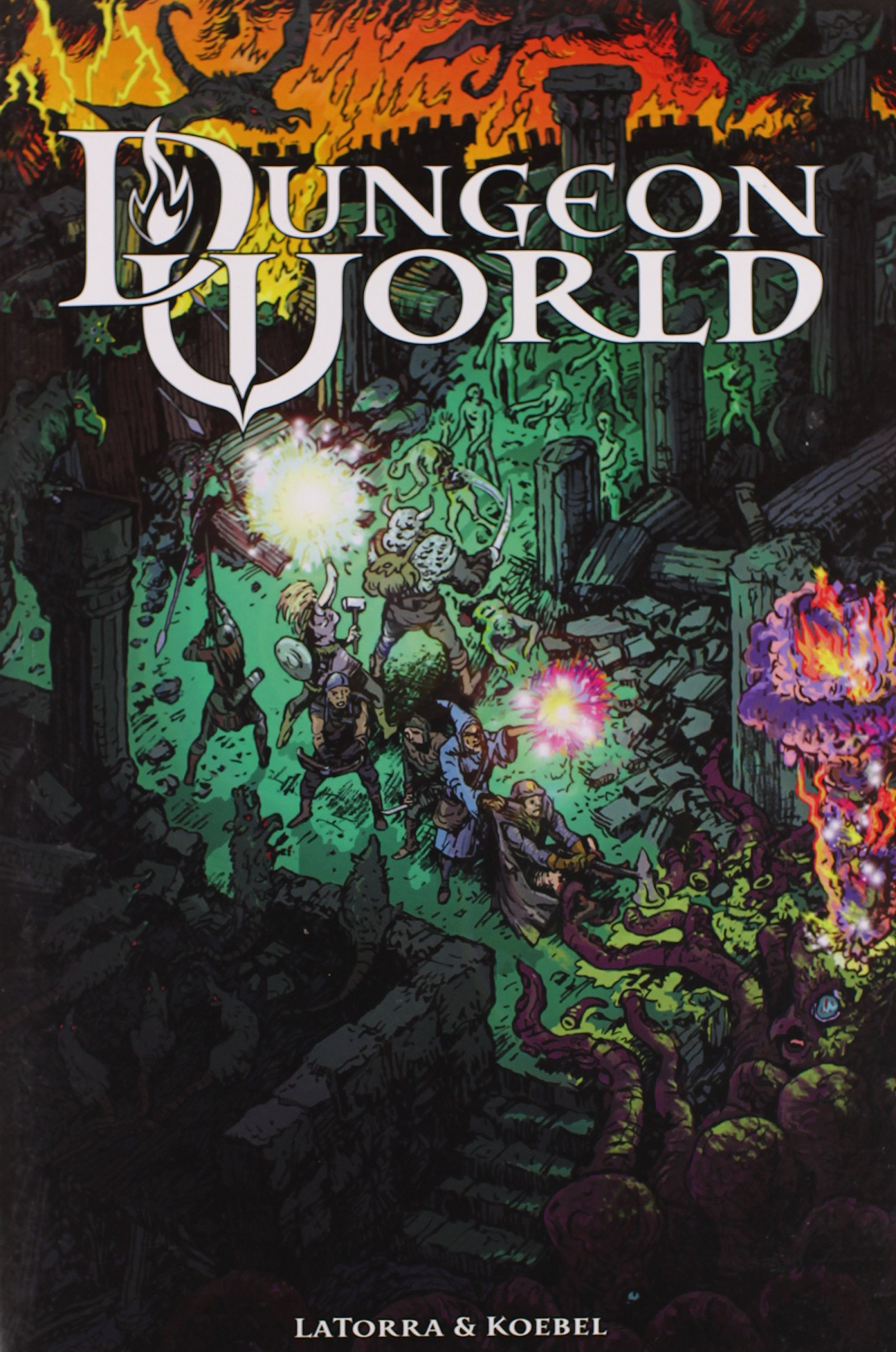Dungeon World: Sage LaTorra, Adam Koebel: 9780988639409: Amazon ...