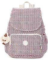 Kipling Women's Ravier Medium Solid Backpack, Zest Red