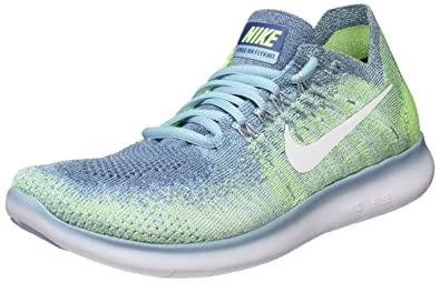new style 0d76b e2ad2 Nike Wmns Free RN Flyknit 2017, Zapatillas de Trail Running para Mujer   Amazon.es  Zapatos y complementos