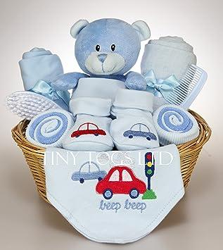 Baby boy hamper gift basket baby shower present amazon baby baby boy hamper gift basket baby shower present negle Gallery