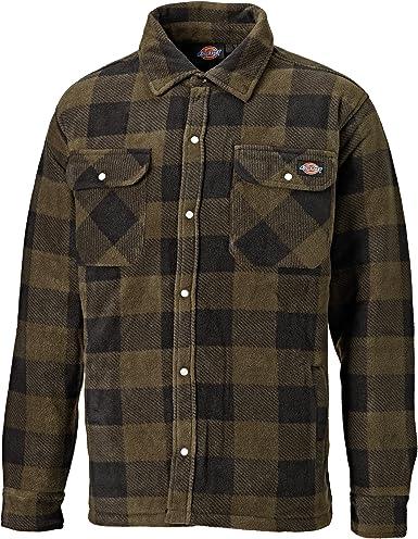 Dickies - Camisa/Chaqueta de leñador de manga larga acolchada Modelo Portland - Invierno/Frio/Montaña: Amazon.es: Ropa y accesorios
