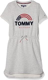 Tommy Hilfiger Sweat Shift Dress S/S, Vestito Bambina KG0KG03644