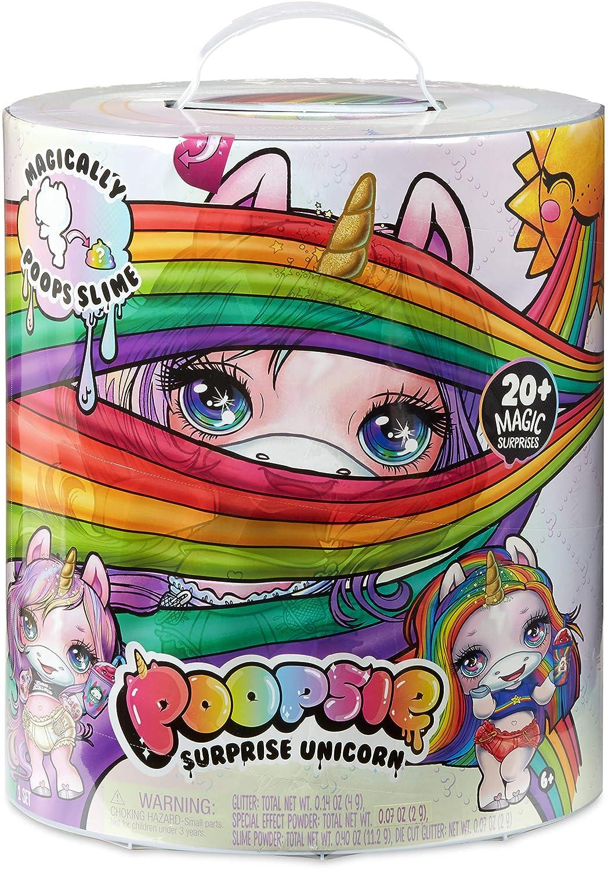 Poopsie Slime Surprise - Unicornio Mágico Crea Caquitas de Slime, Blanco o Rosa (Giochi Preziosi PPE00000)