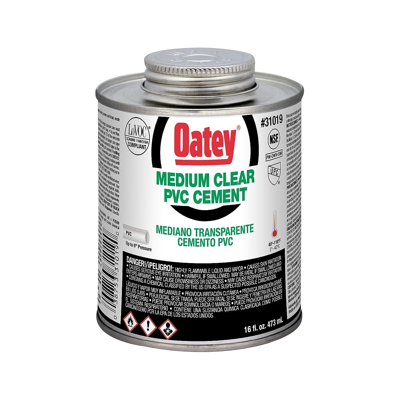 Oatey 31018 Hydraulic Cements 8 oz Clear - Drain Cleaning Equipment - Amazon.com