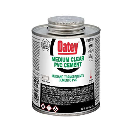 Oatey 31018 Hydraulic Cements 8 oz Clear - Drain Cleaning Equipment - Amazon.com