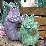 Wasserkaraffe in Fischform, Karaffe, Blumenvase, Vase oder wie man es sonst noch nennen mag findest Du hier.