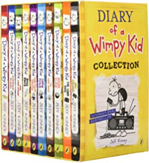 Diary of a wimpy kid box of books 1 8 the do it yourself book diary of a wimpy kid box set collection 10 books diary of a solutioingenieria Images