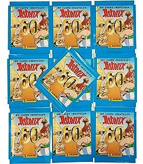 Panini 60 Jahre Asterix Abenteuer 2 x Display 100 Tüten Sticker