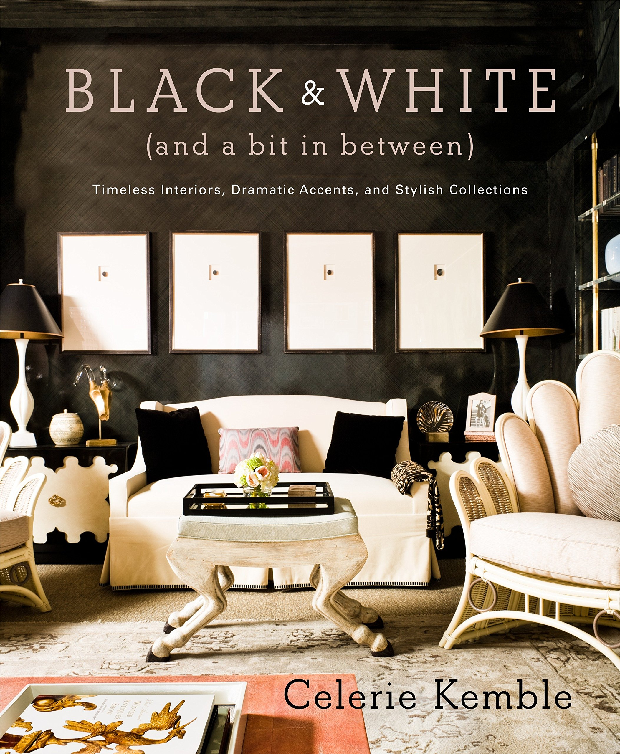 Black And White And A Bit In Between Timeless Interiors - Black-and-white-interior-by-tom-atwoo