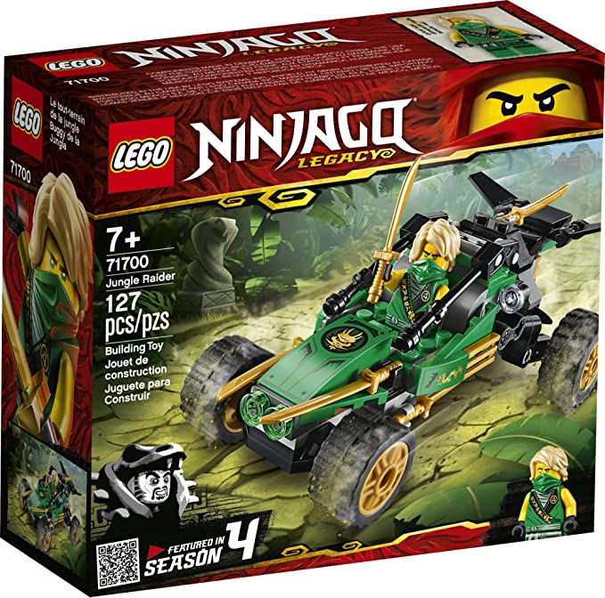 LEGO® Ninjago Legacy Jungle Raider Building Sets 71700 NEW IN STOCK