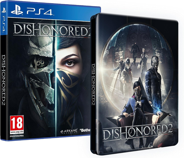 Dishonored 2 + Steelbook Esclusiva Amazon [Importación Italiana]: Amazon.es: Videojuegos