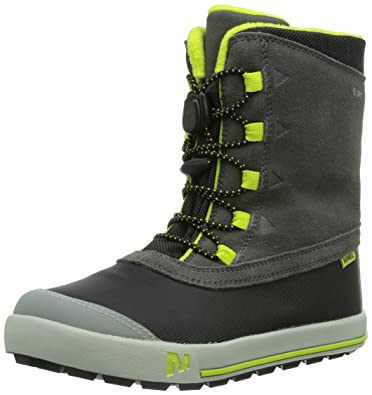 18e7a828ad118 Amazon.com | Merrell Snow Bank Waterproof Boot (Little Kid/Big Kid ...