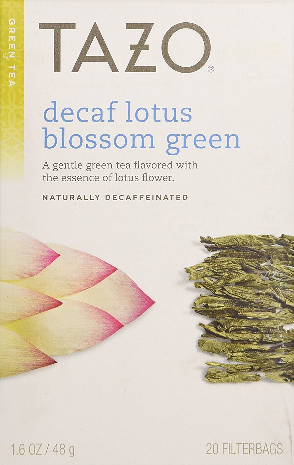Amazon decaf lotus blossom green fb 20ct6 20 per case on amazon decaf lotus blossom green fb 20ct6 20 per case on case tazos tea green decaf grocery gourmet food izmirmasajfo Image collections