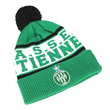 d69a13764a5 AS Saint Etienne ASSE Official Collection Adult s Woolly Hat  Amazon ...