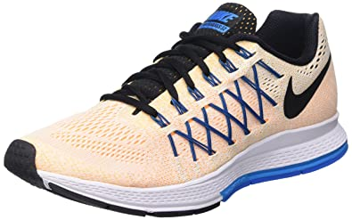 77f22727783f Image Unavailable. Image not available for. Color  NIKE Men s Air Zoom  Pegasus 32 White Black Laser Orange ...