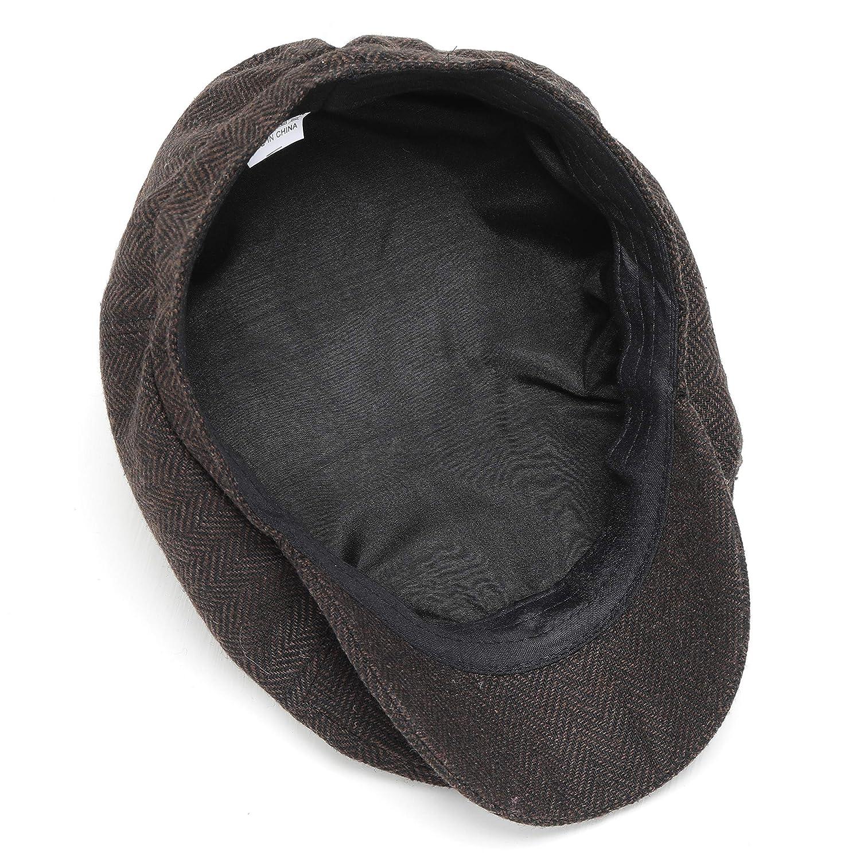 BABEYOND Newsboy Hat Cap for Men Women Gatsby Hat for Men