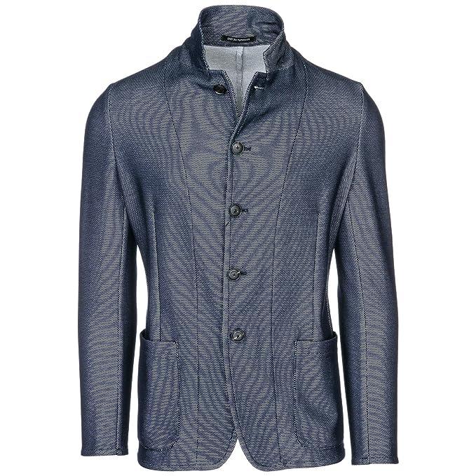 Emporio Armani Veste Homme blu 50 EU  Amazon.fr  Vêtements et accessoires cef133c584a