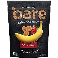 bare Snacks Baked Strawberry Banana Chips, 2.7oz bag