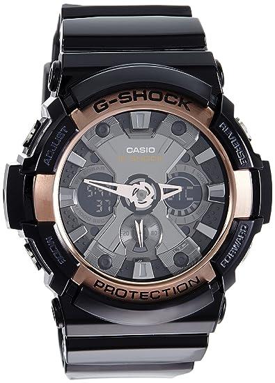 Casio De los hombres G SHOCK Analógico-Digital Deporte Cuarzo Reloj (Modelo de Asia) GA-200RG-1A: Amazon.es: Relojes