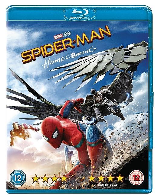 Amazon in: Buy Spider-man Homecoming [Blu-ray] [2017] [Region Free