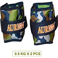 Aurion Wrist Ankle Weights Resistance Strength Training Exercise Bracelets Straps Gym, 1kg, 2kg, 4 Kg, 6kg, 8kg, 10kg