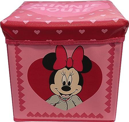 Puf Disney contenedor con cojín 30 x 30 cm disponible con ...