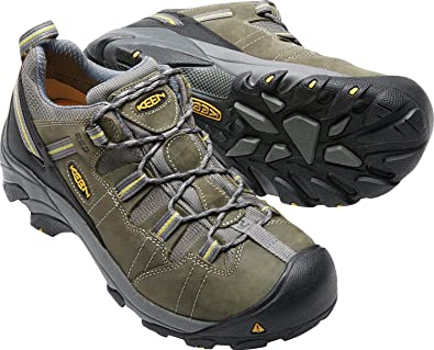 b4c1b61d7e KEEN Utility Men s Detroit Low ESD Soft Toe Work Boot