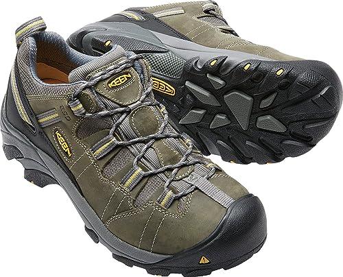 a32a318bbb1 KEEN Utility Men's Detroit Low ESD Soft Toe Work Shoe