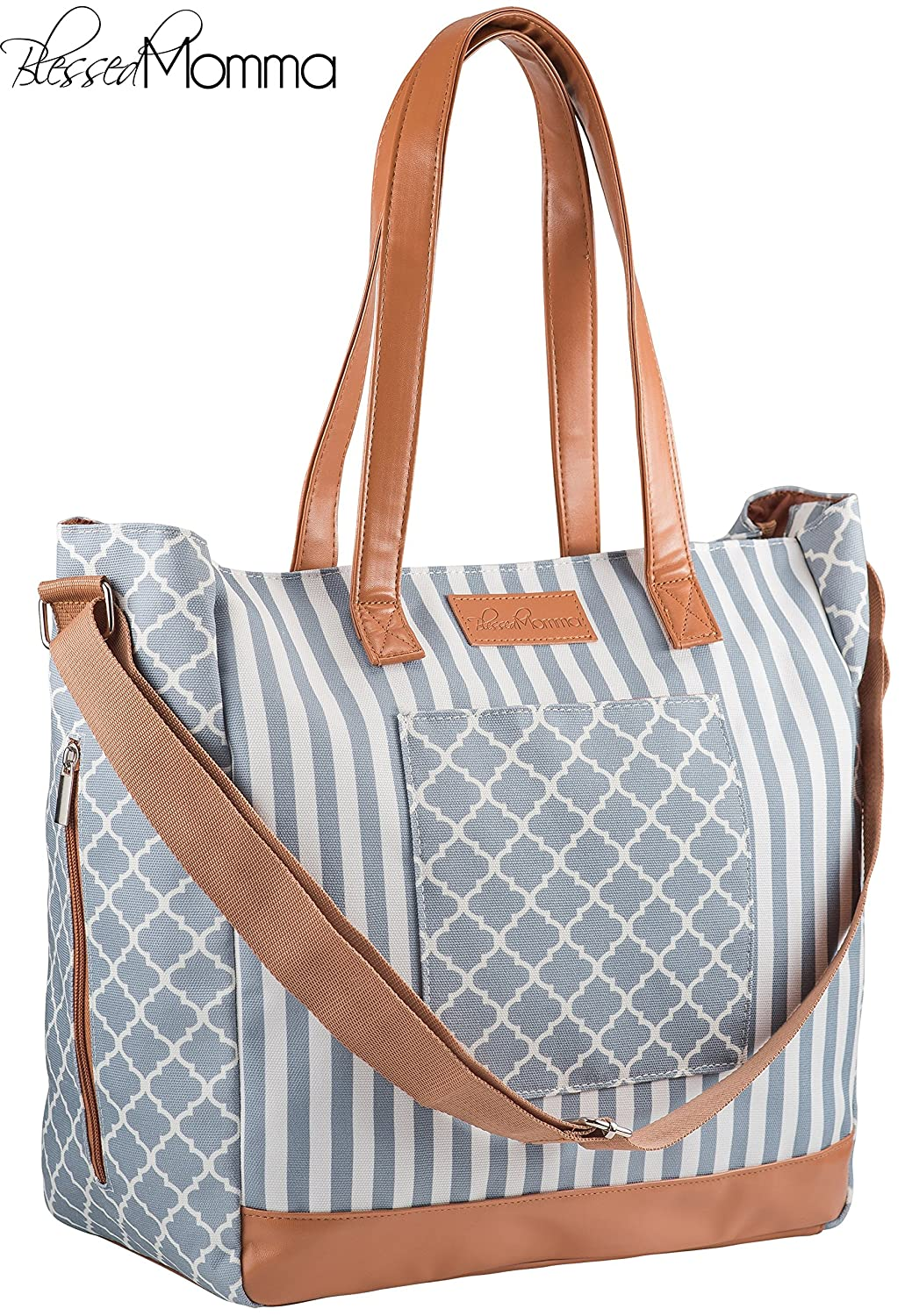 242afe294b64 Sale Stylish Designer Diaper Bag for Women | Elegant & Practical Baby Tote  Bag w/Insulated...