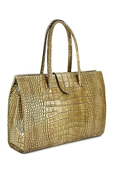 Belli Design Bag C ital. Damen Ledertasche   Arbeitstasche I Businesstasche   Jobbag I Schultertasche Farbauswahl 40x30x12 cm (B x H x T)