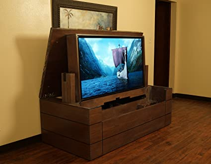 Image Unavailable. Image Not Available For. Color: American TV Lift Cabinet    Handcrafted Low Profile ...
