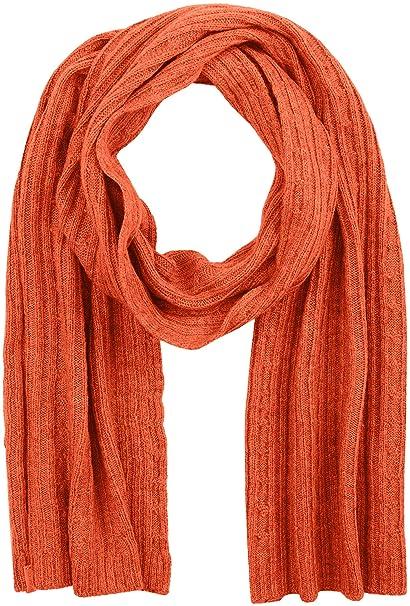 nuovo concetto 87ff7 b1e83 Gant O2. Cable Knit Scarf Sciarpa, Arancione (Burnt Ochre ...