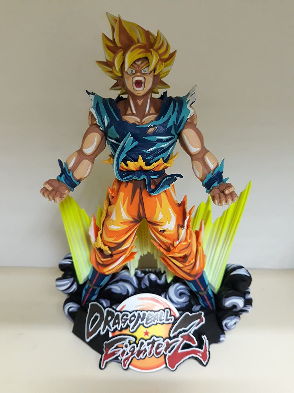 Figura Goku Diorama Dragon Ball Fighterz: Amazon.es: Videojuegos