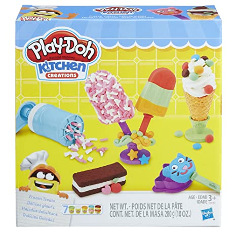 Buy Play Doh Kitchen Creations Frozen Treats Online At Low Prices In