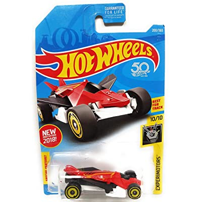 Hot Wheels 2020 50th Anniversary Experimotors Airuption 200/365, Red and White: Toys & Games [5Bkhe0703594]