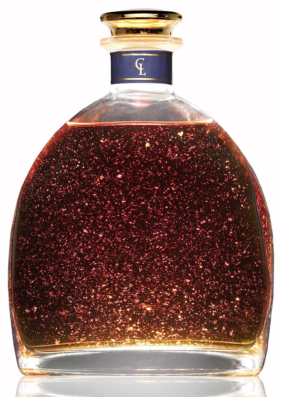 Brandy Con Oro 1818 - Edición Especial Limitada - Solera Reserva - Brandy de Jerez Artesanal y Exclusivo para Regalar - Regalo de Lujo - Láminas de Oro de ...
