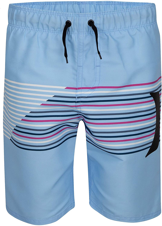 Blue//Slash Hurley Boys Pull On Board Shorts L