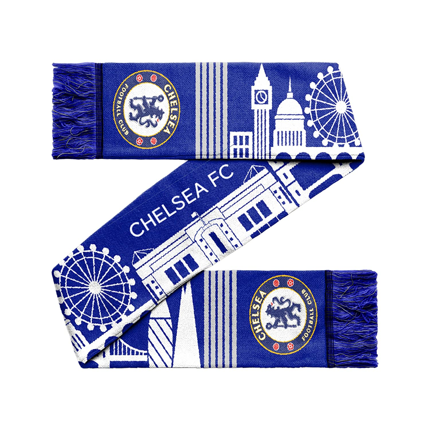 833bde8622f Chelsea FC City Skyline Scarf: Amazon.co.uk: Sports & Outdoors