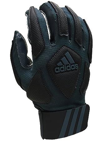 f236b2802 adidas Scorch Destroyer Full Finger Lineman's Gloves, Gray/Black, Small