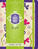 NIV Holy Bible for Girls, Journal Edition, Hardcover, Purple, Elastic Closure