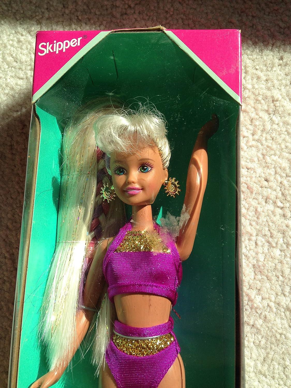 Amazon.com: Barbie Splash n Color Skipper muñeca w Cambio ...