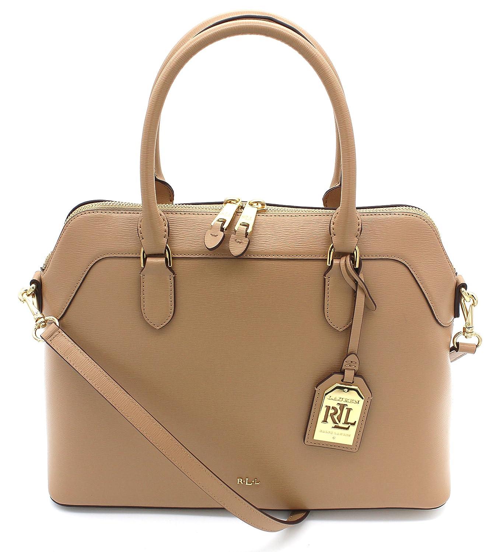 acd85935b7 Ralph Lauren Newbury Nora Stl Medium (Cream)  Handbags  Amazon.com