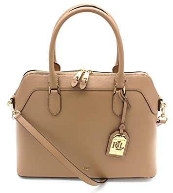 ecaa475c7c9a Ralph Lauren Newbury Nora Stl Medium (Cream)  Handbags  Amazon.com