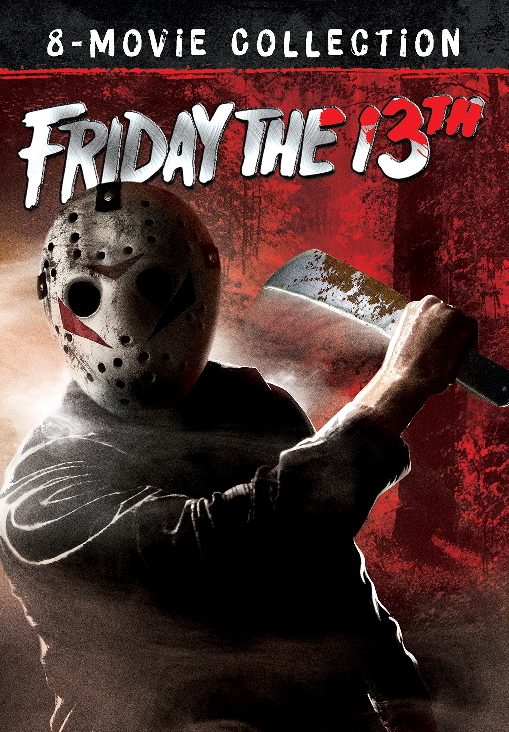 DVD : Friday the 13th: 8-Movie Collection (Gift Set, Widescreen, AC-3, Dolby, Dubbed)