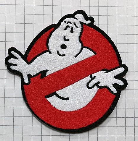 Parche termoadhesivo bordado con logotipo de los Cazafantasmas