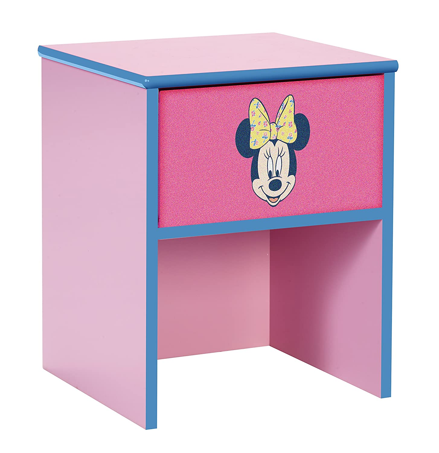 Disney Minnie Mouse Bedside Table by HelloHome Worlds Apart 864212